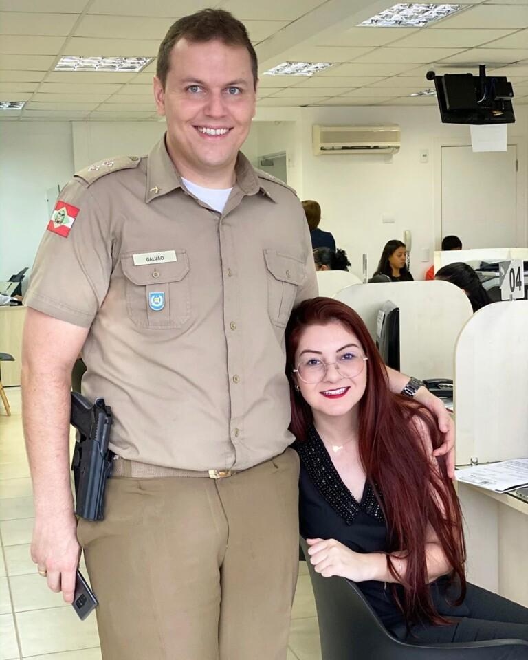 Ana Campagnolo e Thiago Galvão