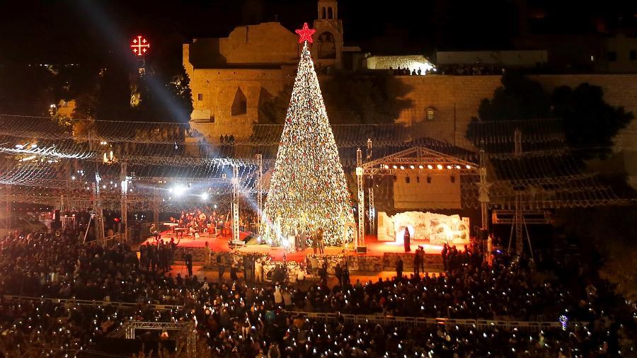 Cristãos de Gaza vão de Belém a Jerusalém