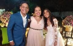 Casamento de Elizeu Alves com Layne Santos