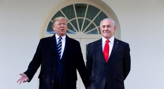 Donald Trump e Benjamin Netanyahu