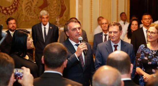 Bolsonaro se reuniu com o prefeito Marcelo Crivella