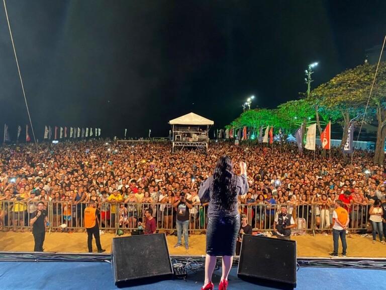 Cassiane foi uma das atrações do Jesus Vida Verão 2020