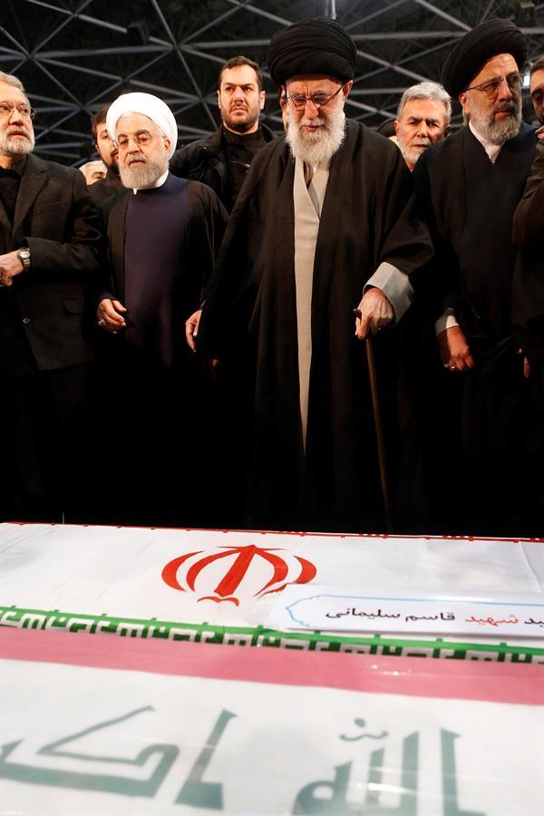 Funeral do general Qassem Soleimani