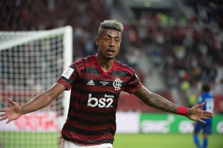 GOOOOOOOOOOOLLL! Bruno Henrique abre o placar para o rubro-negro