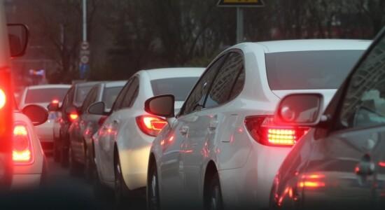 Trânsito de carros