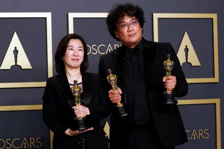 Kwak Sin Ae e Bong Joon Ho