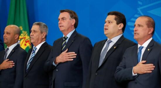Cerimônia de posse dos novos ministros
