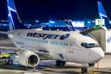 Avião da Westjet