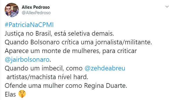 Patrícia Campos Mello é acusada por Hans River de mentir em reportagem que acusa Jair Bolsonaro de comprar disparos de mensagens em massa