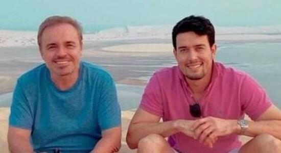 Gugu e Thiago Salvatico